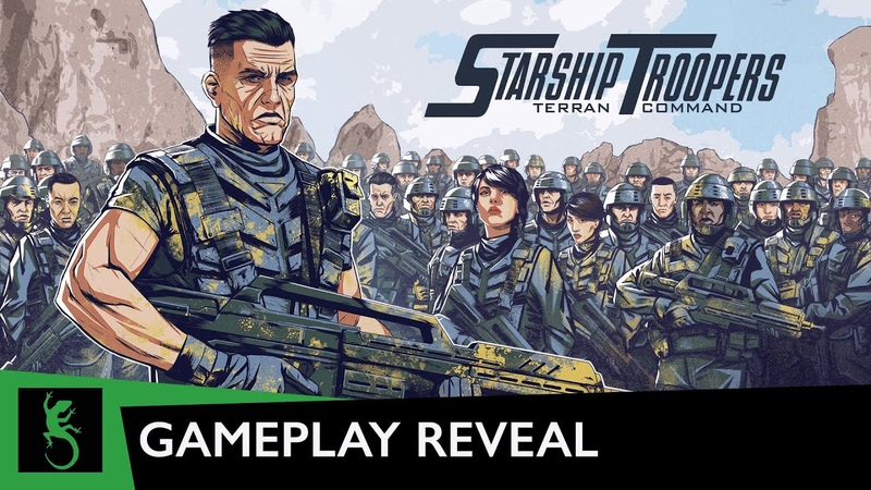 Starship Troopers Terran Command Gameplay Reveal starts at 5pm GMT