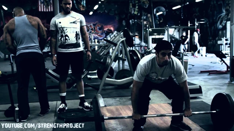 Back Workout with CT Fletcher Deadlifts Rows
