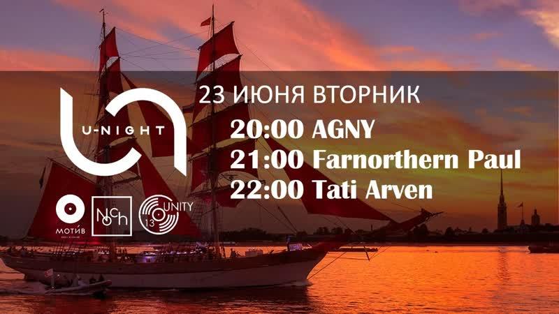 AGNY | Farnorthern Paul | AKHOKAS @ U-NIGHT