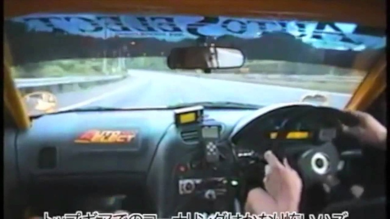 RX 7 Car Amateur Battle Race Crazy 300km h over