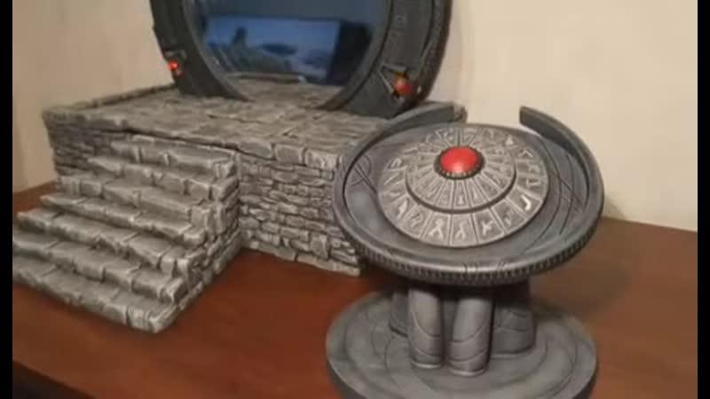 Зepкало которое благодаря эффекту бесконечности превращается в Звездные врата