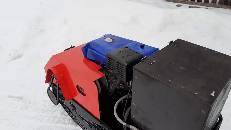 Замер скорости на буксировщике ФОРЗА 17лс по GPS спидометру