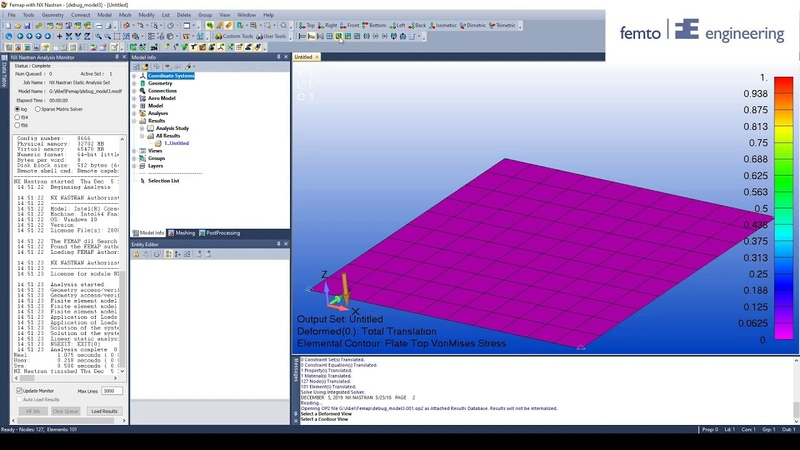 How to debug your Femap Model PART 3 Bailout function 1