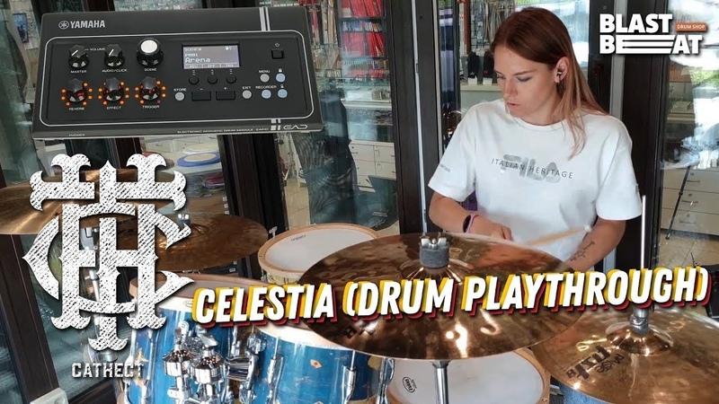 Ksenia Samoilova Cathect CelestiA Drum Playthrough YAMAHA EAD10