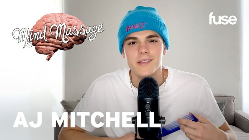 AJ Mitchell Does ASMR with Sand Talks Used To Be Mastering His Craft Mind Massage Fuse
