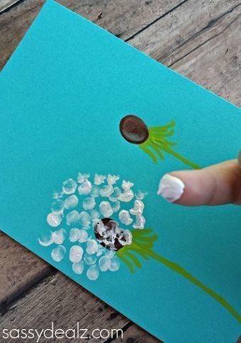 ИДЕИ ДЛЯ ПАЛЬЧИКОВЫХ КАРТИН Картины маленькими пальчиками тоже могут стать шедеврами. Самыми настоящими. Вам нужно только заранее хорошо к нему подготовиться. Вот несколько идей для простых, но