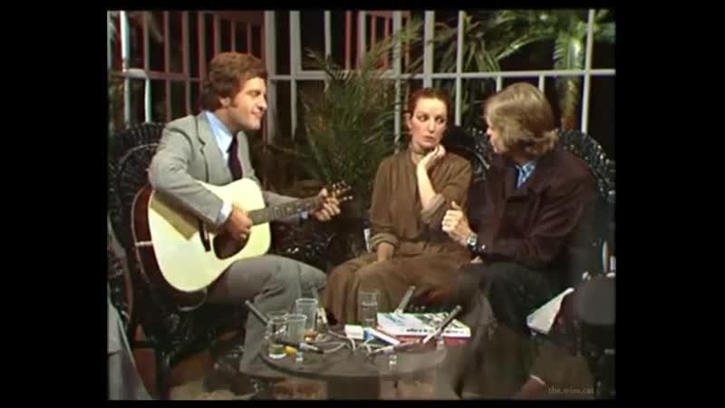 Мари Лафоре в передаче «Les oiseaux de nuit» (1977)