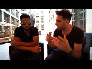 Erstes Live-Interview mit SCHWRZVYCE - Macher des _Fake News Media_ Songs - Berlin _NichtOhneUns