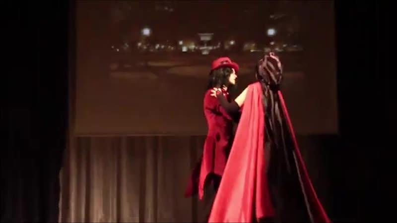 Red Cat 13 и Hawkeye 13 Самара Рандеву с вампиром Ориджинал