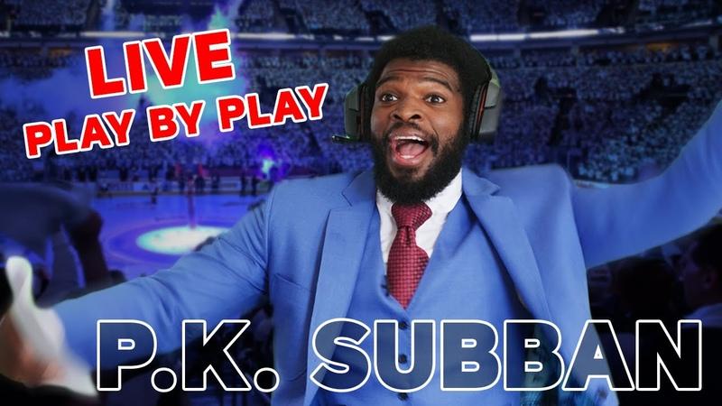 Is P.K. Subban the next great hockey announcer? NHL 20 Hockey Night