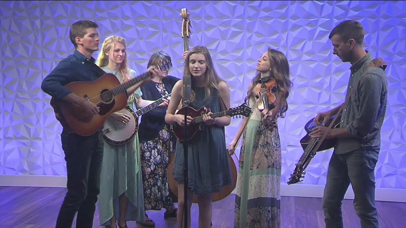 Ozarks FOX AM The Petersons perform Wade in the Water 09 30 19