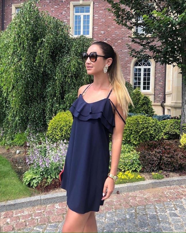 Ольга Бузова: Сегодня день встреч ☺☀💪🏻💪🏻💪🏻 Я в любимом летнем платье/ бретельки от [club68825681|@olgabuzovadesign] 👸🏼