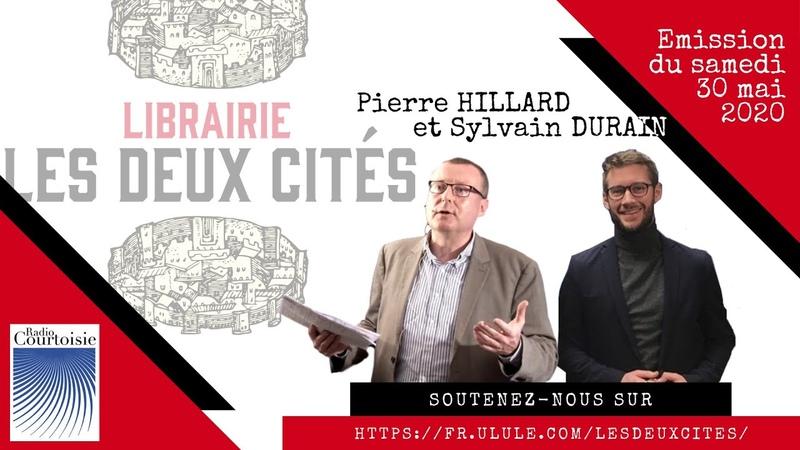 Création d une librairie sortie d ouvrages Pierre Hillard et Sylvain Durain sur Radio Courtoisie