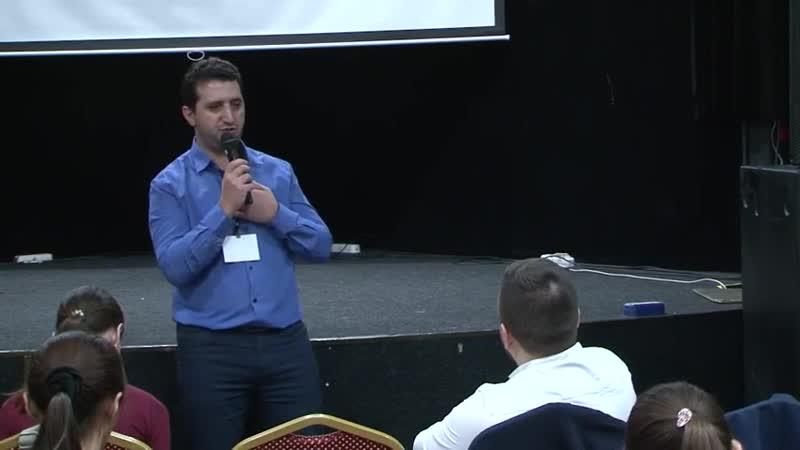 Выступление на ВИП блоке конференции Дерзкий инфобиз