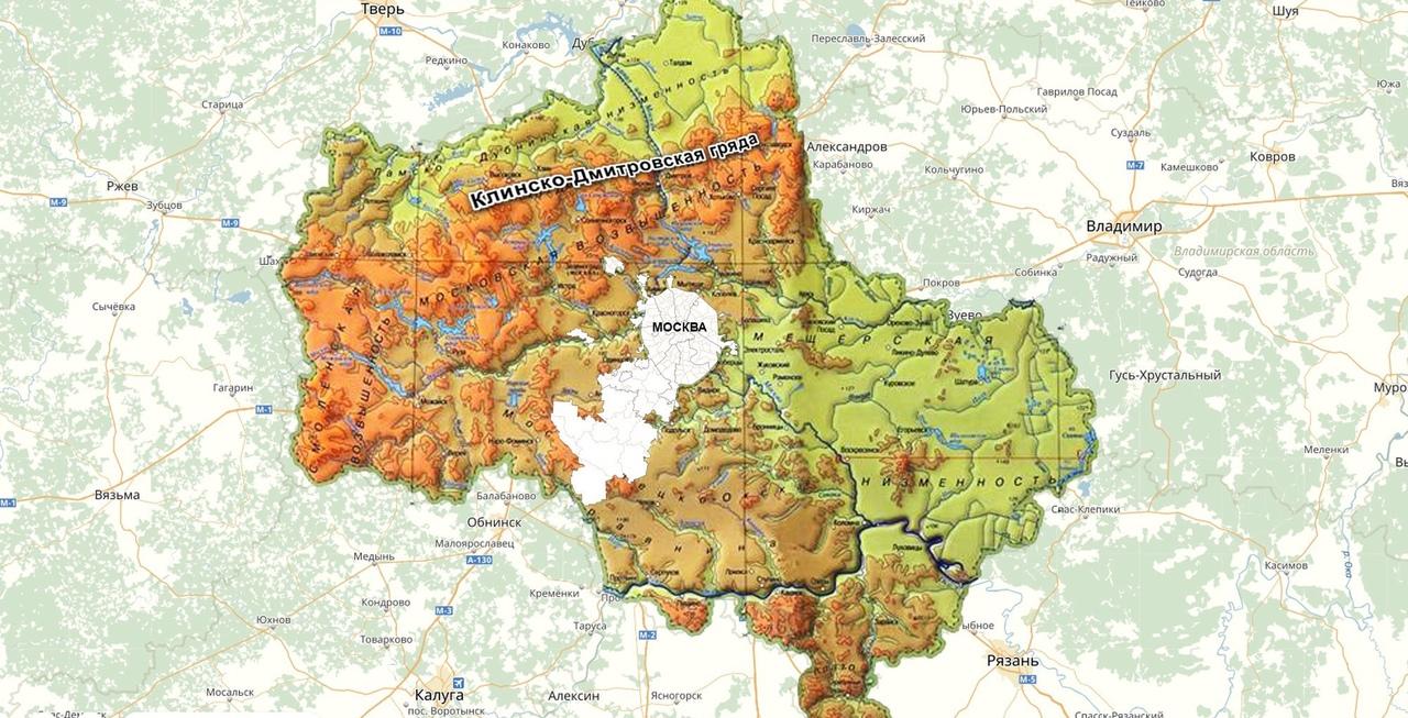Клинско-Дмитровская гряда: парк ледникового периода