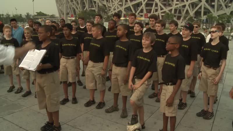 Tancuj tancuj vykrúcaj The Georgia Boy Choir 2010