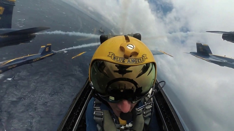 Blue Angels Salute to USS Harry S Truman Strike Group Ready Carrier