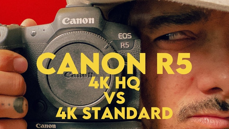 How to Fix Canon R5 s Standard 4K