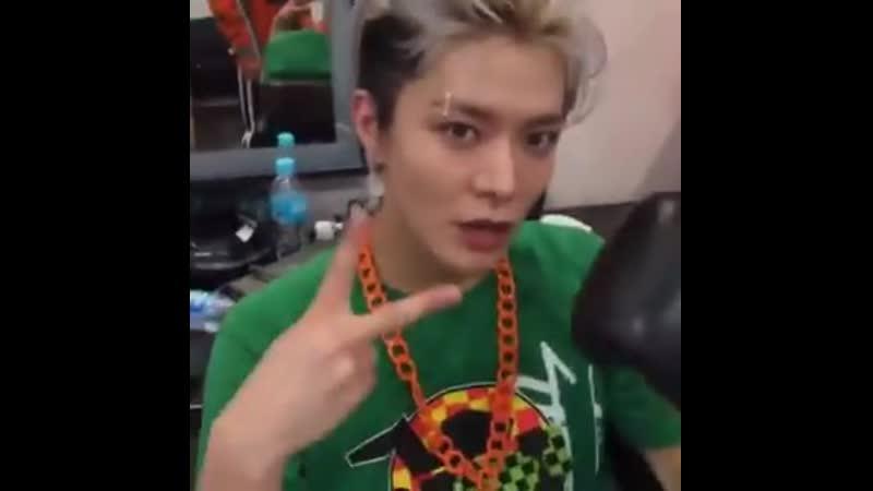 Taeyong yuta is handsome today yuta thank you