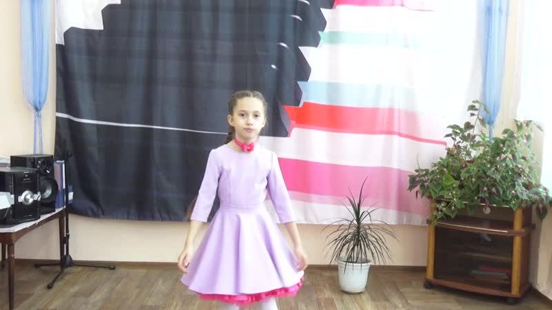 Топчий Ника вокальная группа Рыжий кот песня Я нарисую счастье г Владивосток