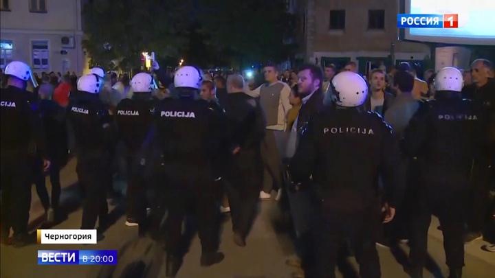 В Черногории власть обвинила церковь в неподчинении законам