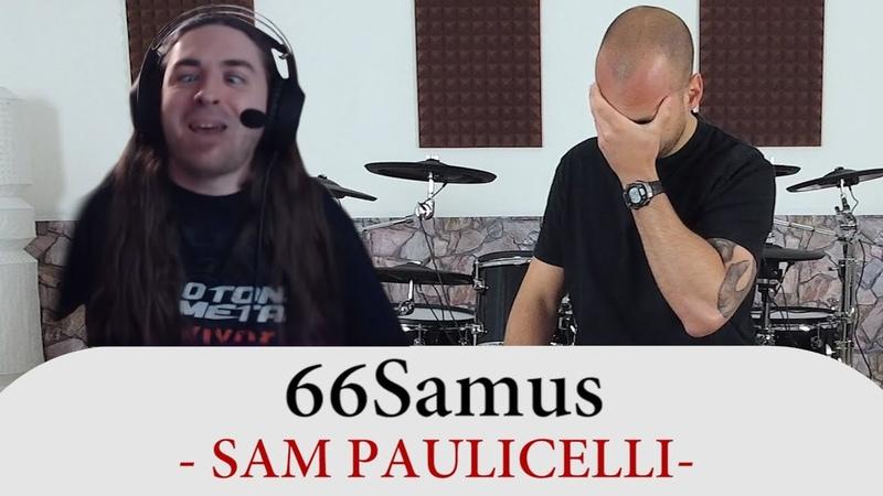 Drum Teacher Reacts To 66Samus Sam Paulicelli