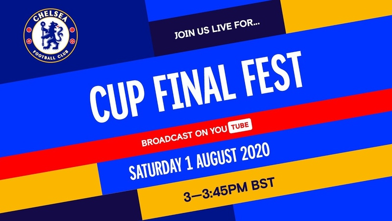 Chelsea v Arsenal Cup Final Fest hosted by Trevor Nelson feat Timo Werner Matthew McConaughey