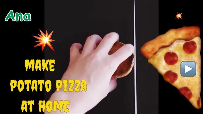 ✨How to make pizza at your house - Tự làm pizza ngon khó cưỡng tại nhà 🤩