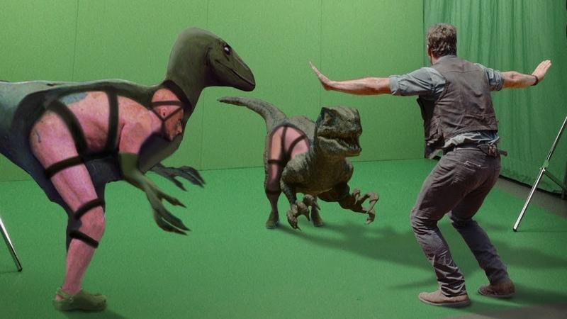 ДО и ПОСЛЕ спецэффектов как снимали фильмы на самом деле
