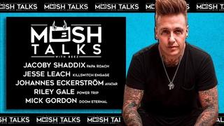 #PapaRoach - Mosh Talks Episode #04: Papa Roach, Killswitch Engage, Doom Eternal, Avatar, Power Trip