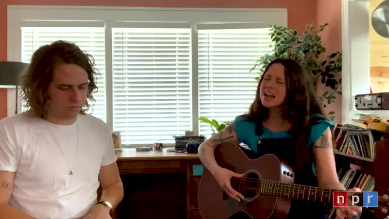 Kevin Morby and Waxahatchee Tiny Desk Home Concert