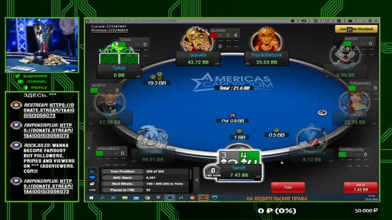 Играю в Покер тянем Бундесдигу Всё просто