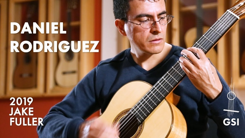 Daniel Rodriguez performs his piece Mulata dedicated to GSI on a 2019 Jake Fuller Purnell