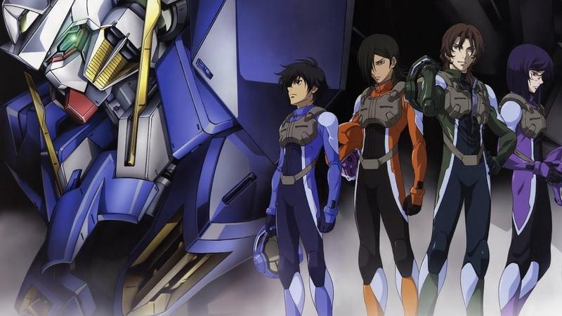 Обзор вселенной Gundam. Часть 10: Mobile Suit Gundam 00