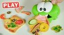 KyKyPlay - Ам Ням и Пицца для друзей - Готовим Вместе - Поиграйка с Пилотом Винтиком