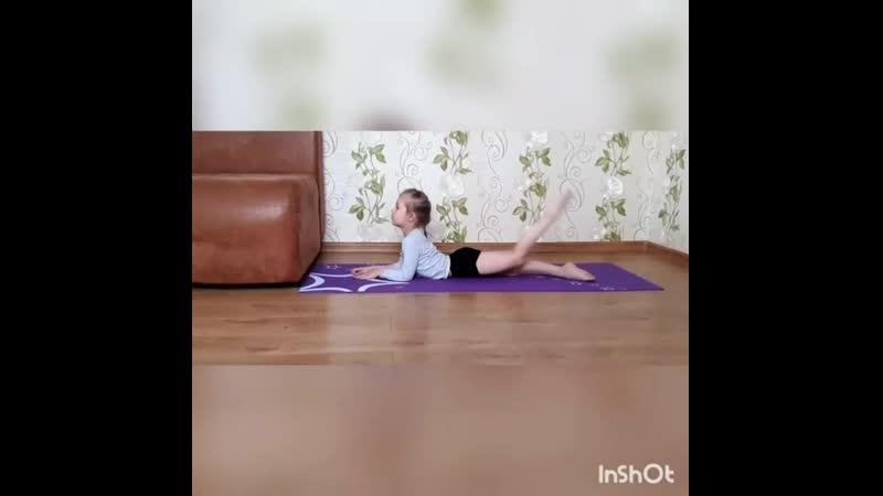 Художественная гимнастика Коцюба Арина гр СОГ