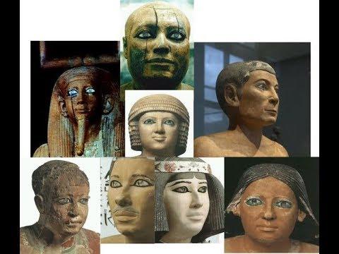 Белые Боги Фараоны и население Египта