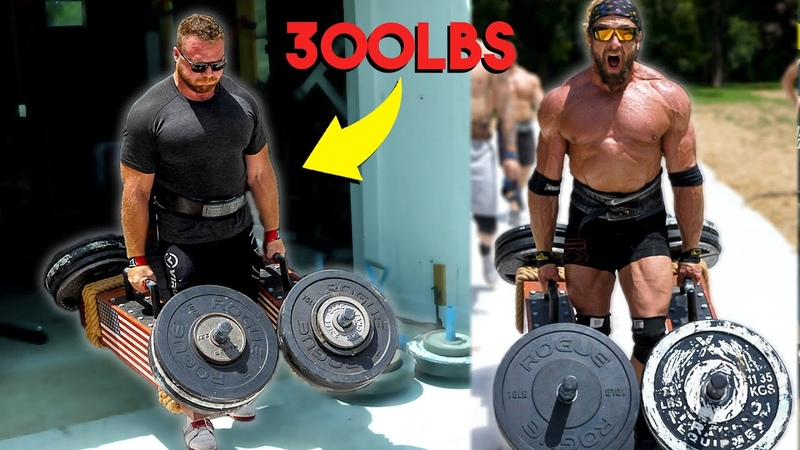 800lb Deadlifter vs Strongman How Much Can He Carry