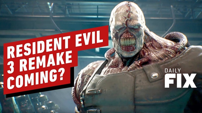 Is A Resident Evil 3 Remake On The Way IGN Daily Fix