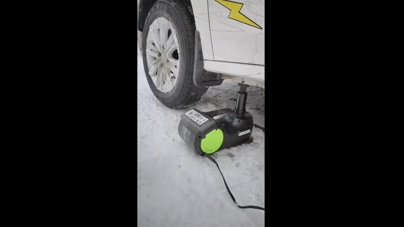 Электрический гидравлический автомобильный домкрат