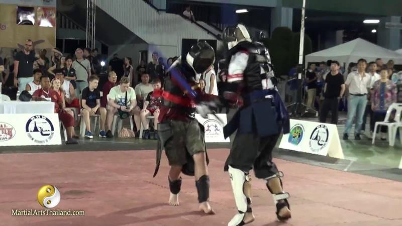 Bout 01 - Dap Thai - Krabi Krabong World Championship 2017