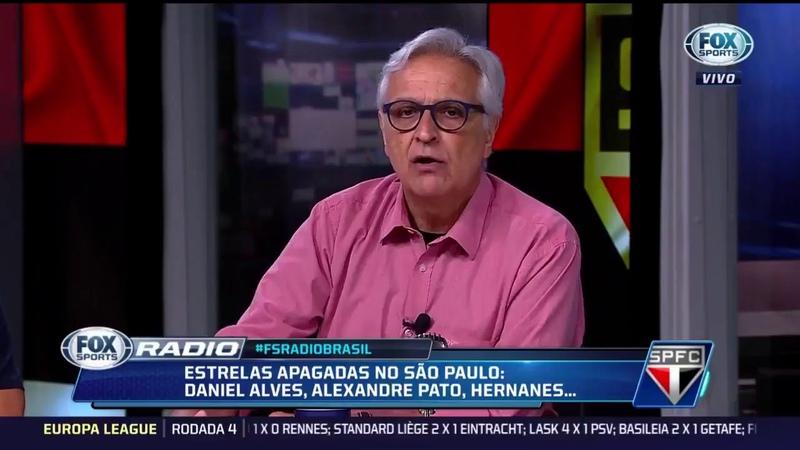 Sormani comparado Daniel Alves com o Nino Paraíba