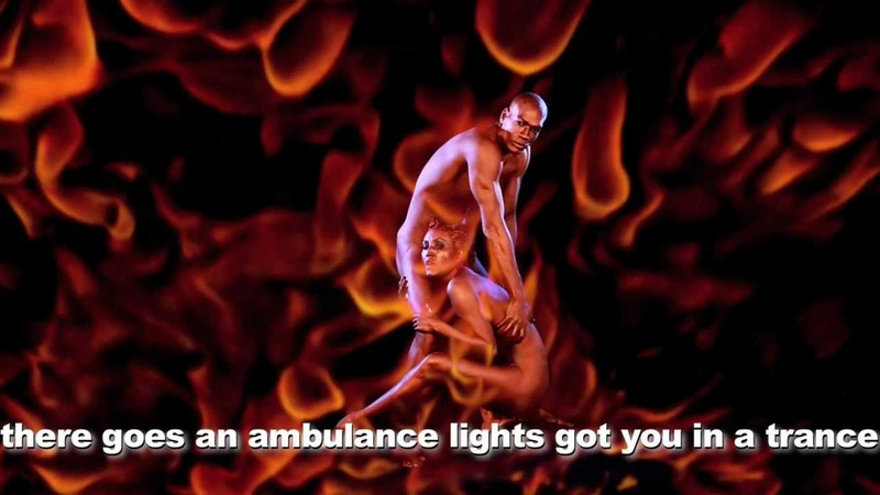 SASHA GRADIVA I'M ON FIRE LYRIC VIDEO