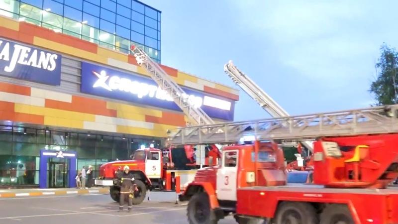 Передача «Город и мы» - В торгово развлекательном центре «Макси» прошли пожарно тактические учения