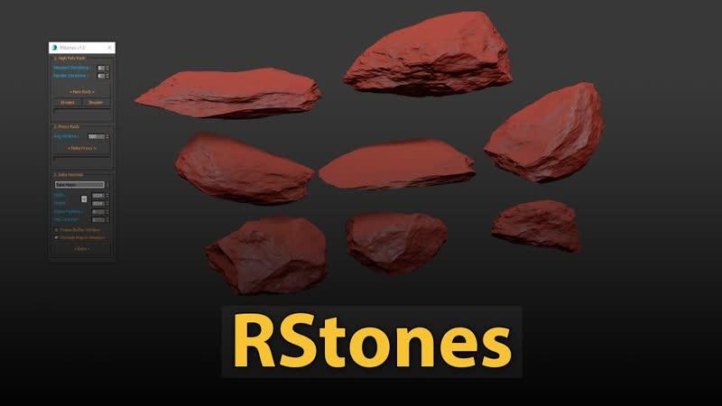 3dsMax Modeling Tips amp Tricks 008 RStones Free 3dsMax Scripts To Generate Rock Models