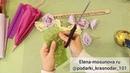 Зонтик с букетом из конфет. Простой мастеркласс как сделать подарок на 8 марта своими руками