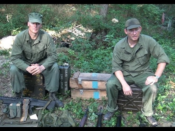 Individual uniforms weapons gear of the U S Army and Marine Infantryman during the Vietnam war