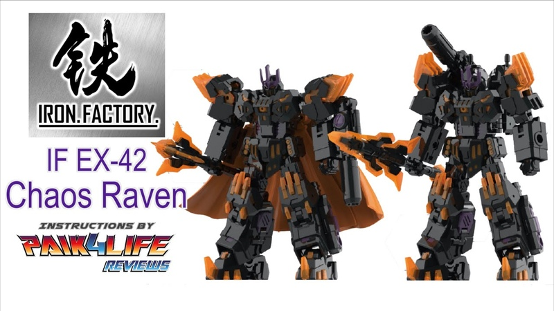 Iron Factory IF EX 36R Chaos Raven Official Video Manual
